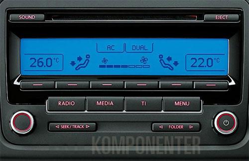 original rcd310 dab dab radio til volkswagen bilkomponenter. Black Bedroom Furniture Sets. Home Design Ideas